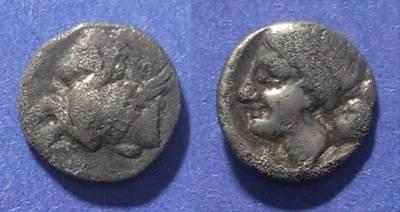 Ancient Coins - Anaktorion, Akarnania Circa 325 BC, Hemidrachm