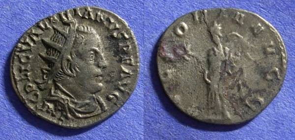 Ancient Coins - Roman Empire - Valerian 253-260AD - Antoninianus