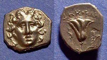 Ancient Coins - Rhodes - Drachm 200-166BC