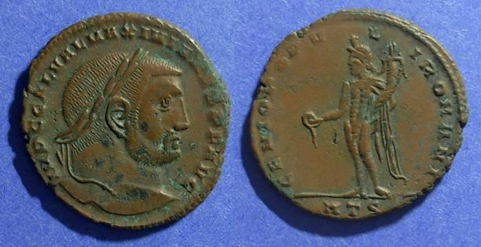 Ancient Coins - Roman Empire, Galerius 305-11, Follis