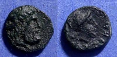 Ancient Coins - Autocane, Aiolis Circa 300 BC, AE9