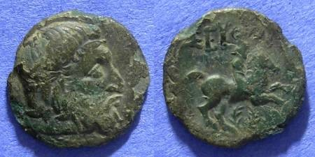 Ancient Coins - Kingdom of Thrace Seuthes III 330-300 BC  AE19