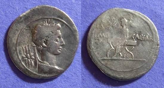 Ancient Coins - Octavian (aka Augustus) Denarius