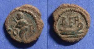 Ancient Coins - Berytus, Phoenicia 1st Century AD, AE13