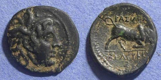 Ancient Coins - Seleucid Kingdom, Seleucus I 312 - 280 BC, AE19