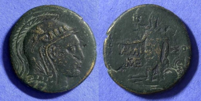 Ancient Coins - Amisos Pontos AE30 100-63 BC