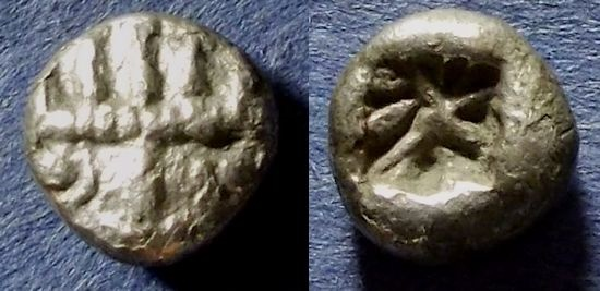 Ancient Coins - Uncertain Asia Minor - Diobol Circa 450 BC
