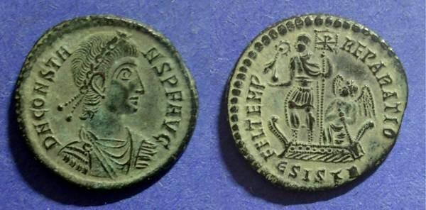 Ancient Coins - Roman Empire, Constans 337-350, Centenionalis