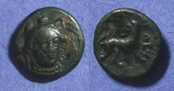 Ancient Coins - Eleutheria Mysia AE10 Circa 350 BC