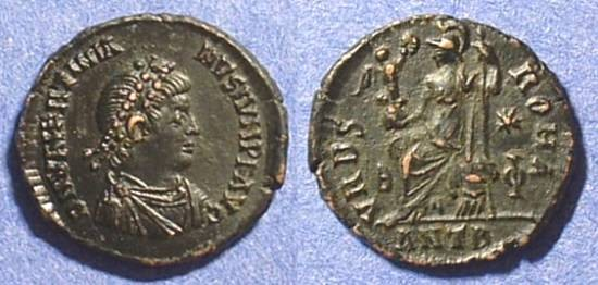 Ancient Coins - Valentinian II 375-392AD AE3