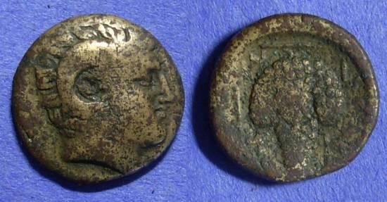 Ancient Coins - Cyclades – Tenos AE19– Circa 300-200 BC
