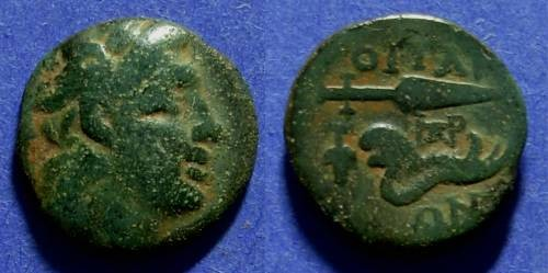 Ancient Coins - Thessaly The Oetaei 196-146 BC AE16