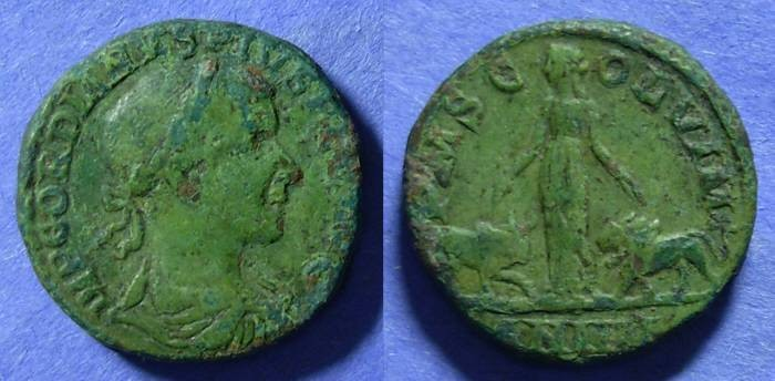 Ancient Coins - Viminacium Moesia, Gordian III 238-244, AE28