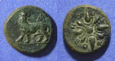 Ancient Coins - Miletos, Ionia 375-350 BC, AE13