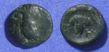 Ancient Coins - Cyclades – Tenos AE11– Circa 300-200 BC– *Lindgren plate coin*