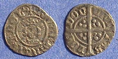 Ancient Coins - Richard II 1377-99  halfpenny