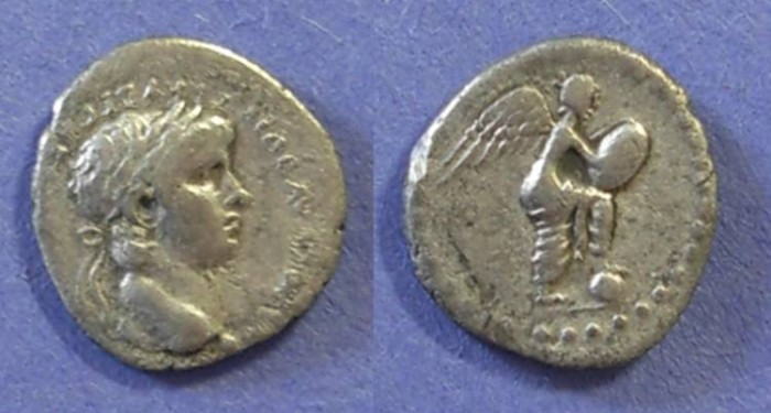 Ancient Coins - Roman Caesarea, Nero 54-68, Hemidrachm