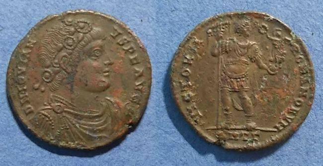 Ancient Coins - Roman Empire, Jovian 363-4, AE-1