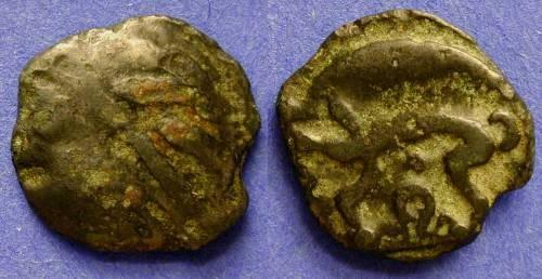 Ancient Coins - Leuci (NW Gaul) Potin