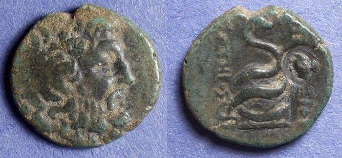 Ancient Coins - Pergamon, Mysia 133-27 BC, AE21