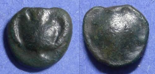 Ancient Coins - Selinos, Sicily 435-415 BC, Onkia