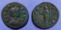 Ancient Coins - Roman Empire, Severina 270-5, Denarius