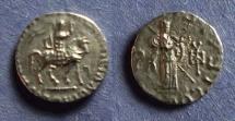 Ancient Coins - Indo-Skythian, Azes 35BC-5AD, Drachm