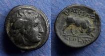 Ancient Coins - Seleucid Kingdom, Seleukos I 312-280 BC, AE15