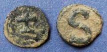 Ancient Coins - Byzantine Empire, Heraclius 610-641, Six Nummi