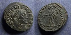 Ancient Coins - Roman Empire, Severus II (as Caesar) 305-6, 1/4 Follis