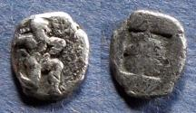 Ancient Coins - Islands off of Thrace, Thasos 550-500 BC, Diobol