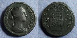 Ancient Coins - Roman Empire, Faustina Jr 145-175, Aes