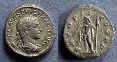 Ancient Coins - Roman Empire, Severus Alexander 218-222, Denarius