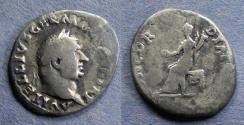 Ancient Coins - Roman Empire, Vitellius 69, Denarius