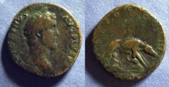 Ancient Coins - Roman Empire, Antoninus Pius 138-161, Sestertius