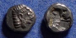 Ancient Coins - Ionia, Kolophon 450-410 BC, Hemiobol