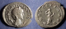 Ancient Coins - Roman Empire, Herennia Etruscilla 249-251, Antoninianus