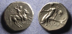 Ancient Coins - Calabria, Taras 272-240 BC, Stater