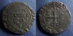 World Coins - France, Charles VI 1380-1422, Blanc Florette