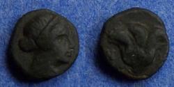 Ancient Coins - Islands off of Caria, Rhodes Circa 380 BC, AE10