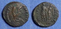 Ancient Coins - Roman Empire, Honorius 393-423, Bronze AE3