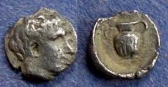 Ancient Coins - Troas, Gargara 450-400 BC, Hemiobol