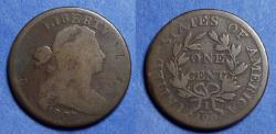 Us Coins - United States,  1807 Large Fraction,  Draped Bust Cent