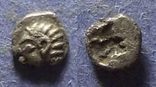Ancient Coins - Ionia, Kolophon Circa 500 BC, Tetartemorion