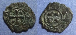 World Coins - Kingdom of Sicily, Conrad 1250-4, Denaro