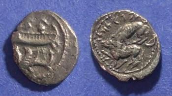 Ancient Coins - Byblos, Pheonicia Circa 350 BC, 1/8 Shekel