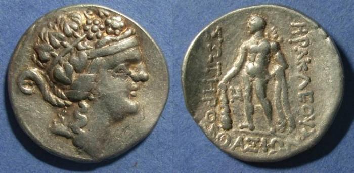 Ancient Coins - Thasos (imitative), Island of Thrace Circa 120 BC, Tetradrachm
