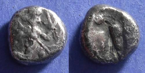 Ancient Coins - Achaemenid Kingdom,  450-330 BC, Fouree Siglos