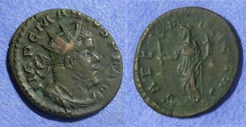 Ancient Coins - Marius – Gallic Sucessionist emperor May to September 269 Antoninianus