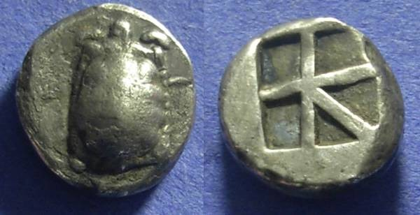Ancient Coins - Aegina Stater Circa 445-431BC
